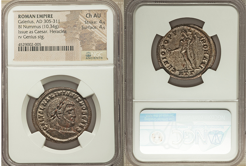 coin shown in slab