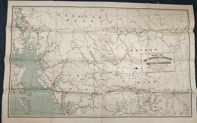 B.C., G.B., & Pacific Coast 1880s/1910s Maps & Contracts