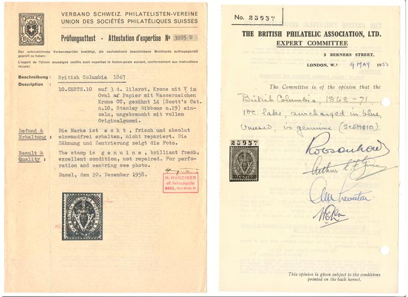 2 certificates