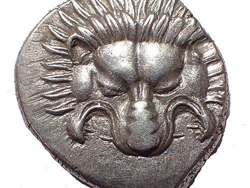 Dynasts of Lycia 380-360 B.C. Pericles 16mm 2.8gm Silver 1/3 Stater