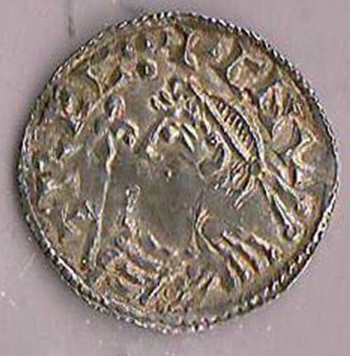 obverse with Cnut bust