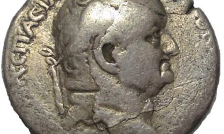 Vespasian 69-79 AD Antioch Silver Tetradrachm
