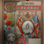 Boer War 1901 colour Patriotic 7-page Illustrated Canadian Calendar