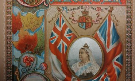 Boer War 1901 colour Patriotic 7-page Illustrated Canadian Calendar