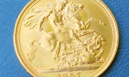 G.B. BU 1957 QEII Gold Sovereign