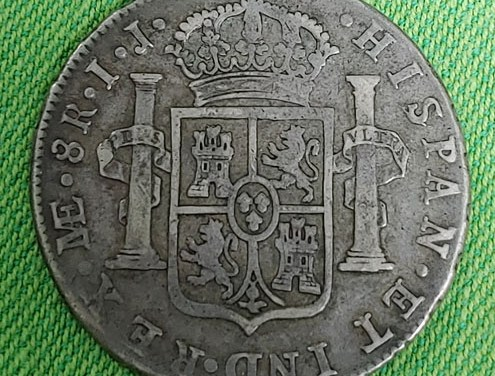 Peru/Colonial Canada 1789 Silver 8 Reales