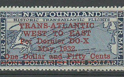 Newfoundland #C12 1932 $1.50 Do-X Airmail
