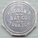 Hudson's Bay Company Unc 10c Yorkton Aluminum Token