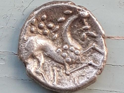 Celtic Britain 45-50 AD Iceni Silver Unit