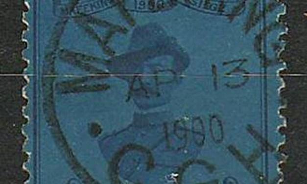 Cape of Good Hope #180 13 Apr 1900 CDS 3d Blue