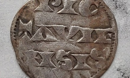 Richard I the Lion Heart 1189-1199 Duke of Aquitaine Silver Denier