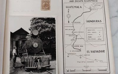 Panama Railroad Collection in 49-pg Gerald Wellburn Album