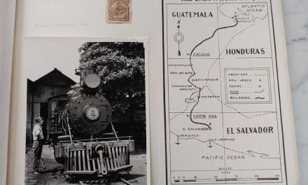 Panama Railroad Collection in 49-pg Gerald Wellburn Album