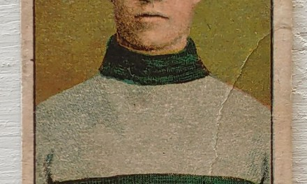 Barney Holden 1910/11 C56 VG+ #4 Rookie Hockey Card