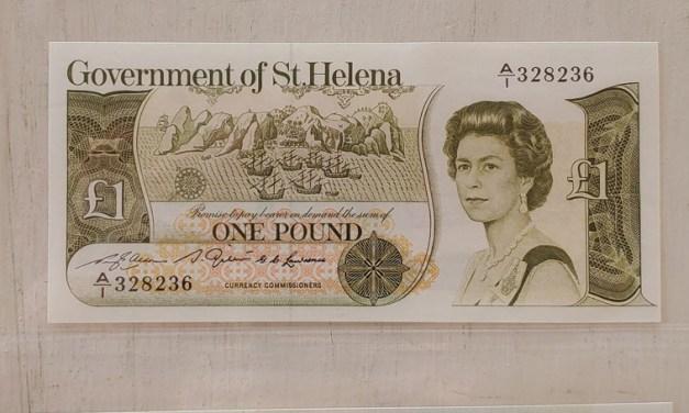 St. Helena Unc 1979/82 Banknote trio