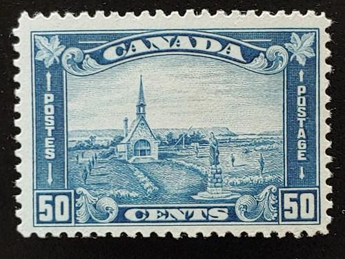 Canada #176 F/VF Mint 1930 50c Grand Pre