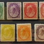 Canada #74-84 Fine+ Mint 1898/1902 QV Numeral Set (11)