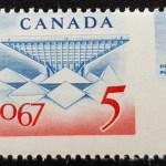 Canada #469 Never Hinged 5c Expo 67 Misperf ex Penko