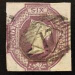 G.B. #7b F/VF Used 6d Deep Violet
