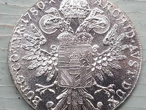 Austria Unc 1780X Maria Theresa restrike Silver Thaler .7468oz ASW