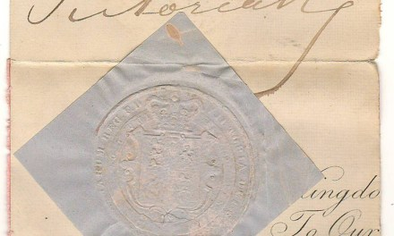 Queen Victoria 4×5″ Signature on document piece