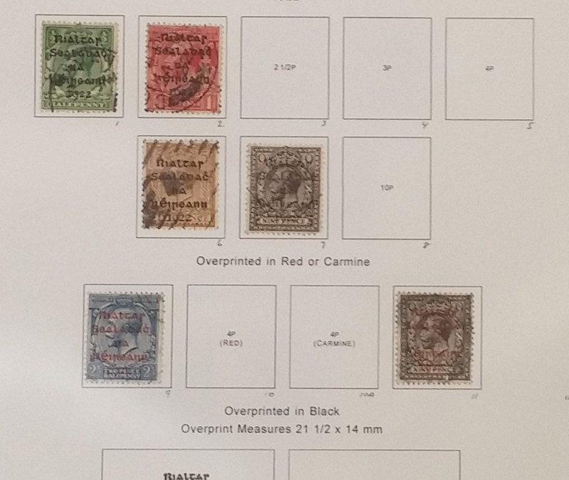Ireland 1922/1950 Used on pages incl B.O.B. US$1363. (115)