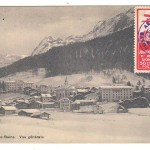 Switzerland AAMC#13 18 May 1913 50c Aviation Label on Postcard