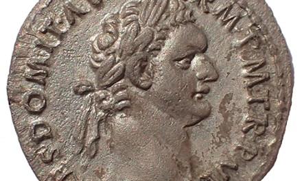 Roman Imperial, Domitian 81-96 AD Silver Denarius w/ Minerva etc