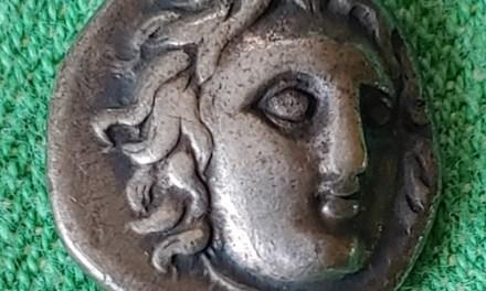 Greece/Caria, Rhodes 400-363 BC Silver Didrachm