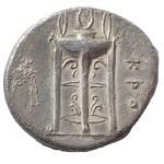 Bruttium circa 330-300 BC Kroton Stater w/ Apollo