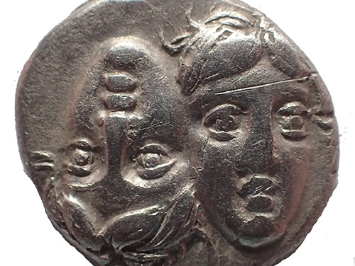 Moesia, Istros 4th Century BC Silver Drachm