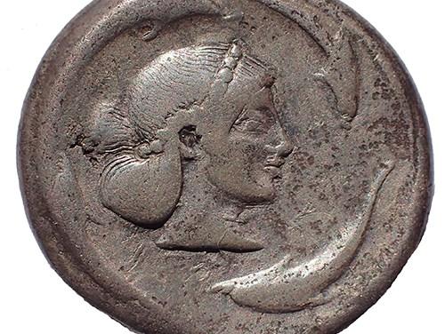 Sicily/Syracuse 475-470 BC Silver Tetradrachm