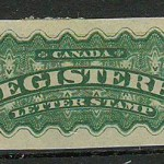 Canada #F2c 1876 5c Imperforate RLS gum thins