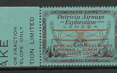 Patricia Airways #CL18 VFNH 1926 50c S.O.A. only 1800 issued