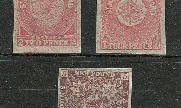 Newfoundland #17i, 18ii, 19i Fine+ Mint Watermarked trio $405.