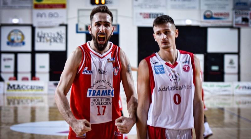 2019 Tramec Cento 81 – 57 Teramo Basket 1960 la Fotogallery di Fabio Pozzati