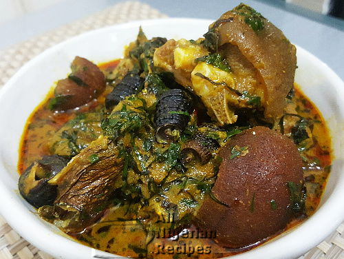 How to prepared 'ATAMA SOUP', It's Ingredients and Methods