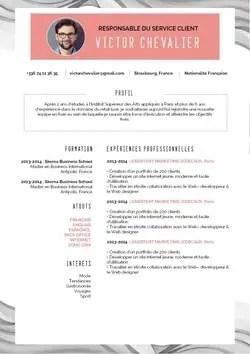Rediger Un Cv Cuisinier Qui Accroche 6 Modeles Et 12 Conseils