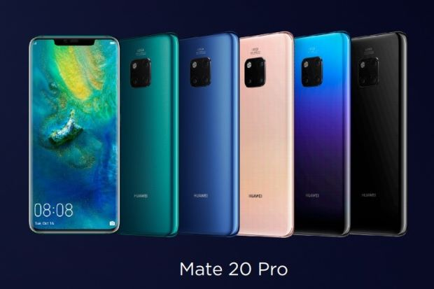 Huawei Mate 20 Pro with four cameras set to launch on November 27 in India