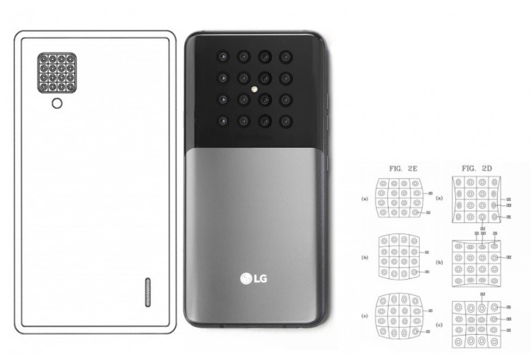 LG shows a Patent for 16 camera phone which could capture 16 images with just a tap