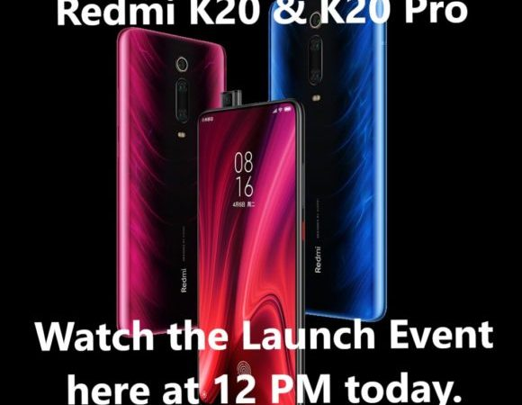 Watch Redmi K20, Redmi K20 Pro Launch event today, Expected Price, Specifications