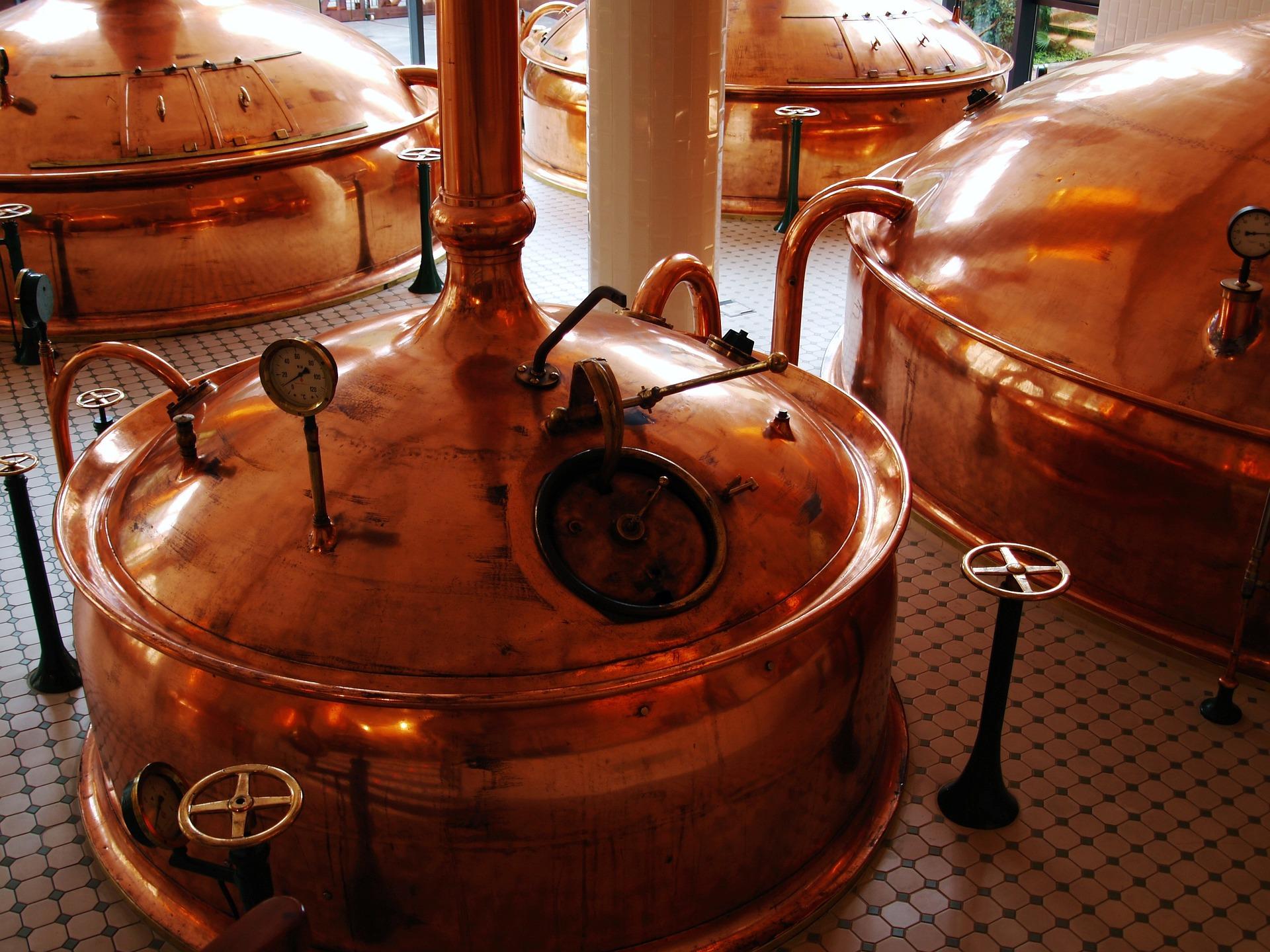 Fabrication de la bière en Alsace