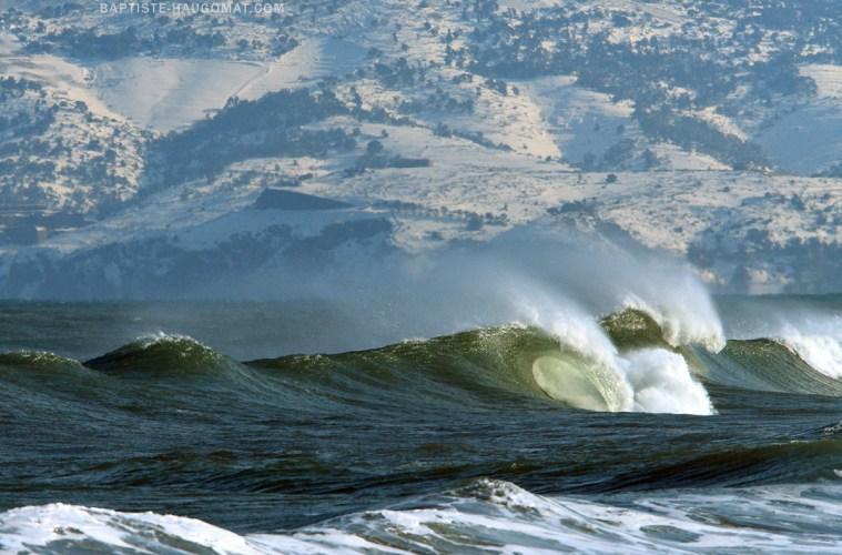 Surfer l'hiver