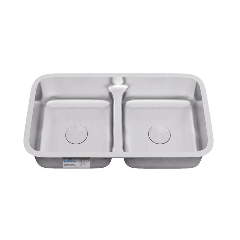 ld 3218 low divide double bowl undermount sink