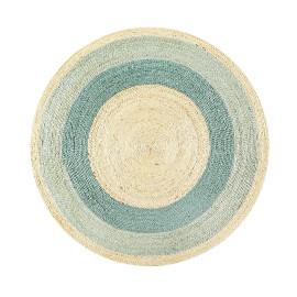 tapis de diametre 100 cm raye ou uni