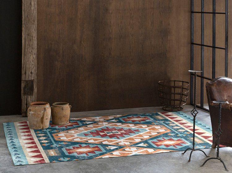 tapis rectangle kilim