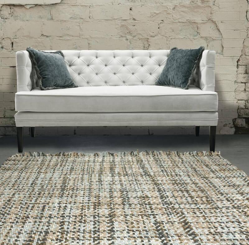 tapis plat en laine
