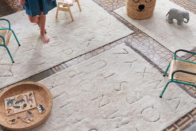 tapis enfant recyclé