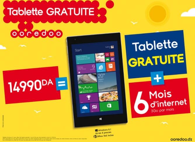 Ooredoo tablette windows 8