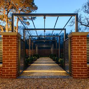 Contemporary Arch Amp Pergola Walkway From Garden Structures